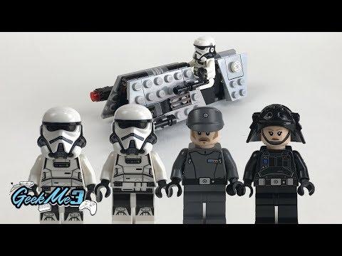 Vidéo LEGO Star Wars 75207 : Pack de combat de la patrouille impériale