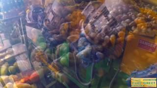 Tremie de reception pomme de terre avec trieur optique