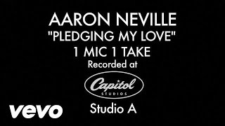 Aaron Neville Pledging My Love 1 Mic 1 Take Video