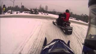 preview picture of video 'GoPro Snowmobiling Speculator NY First Ride 2014'