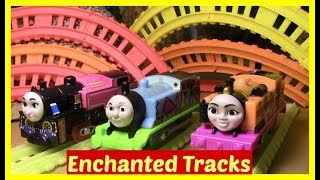 Thomas and Friends Accidents will Happen | Toy Trains Thomas the Tank | Glow in the Dark Track