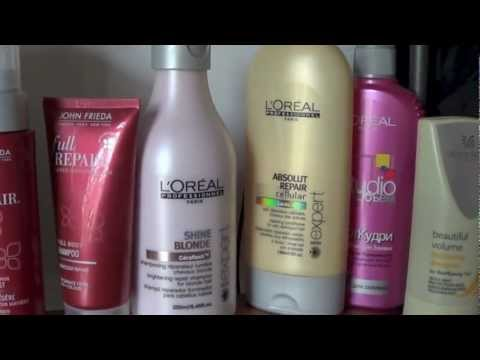 Уход за волосами шампунь Loreal professional, John Frieda/My hair care