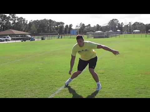Daniel from Germany Football Training