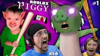 ROBLOX PIGGY: Escape Peppa Granny Chapter 1,2,3,4,5 & 6 (The FGTEEV Boys Gameplay #56)