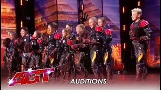 Ukranian Light Balance Is Back! But This Time The KIDS TAKE OVER! | America's Got Talent 2019