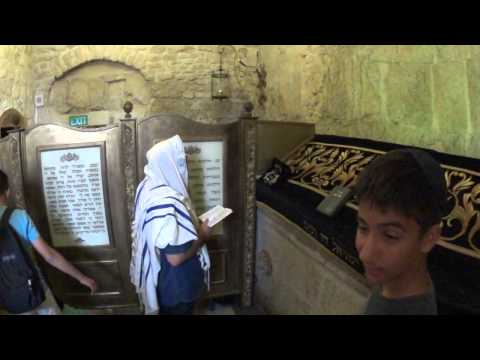 King David's Tomb at Mount Zion in Jerusalem -a place of worship of a great King