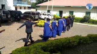 Kisumu county assembly mace taken to the police for safekeeping