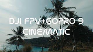 DJI FPV DRONE+GoPro 9 CINEMATIC VIDEO FREEDOM BEACH