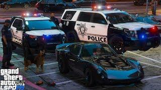 GTA 4 LCPDFR | Live Patrol | NYPD - K-9 ESU 2013 Chevy Impala / CRC