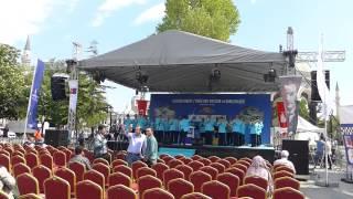 Start der Allgäu Orient Rallye 2015, Istanbul (Türkei), 15.05.2015