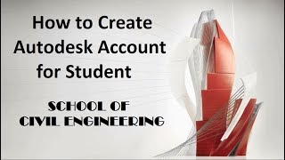 How to Create Autocad Account for Student | Create a  Account And install AutoCAD Original Version