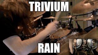 """Trivium - """"Rain"""" - DRUMS"""