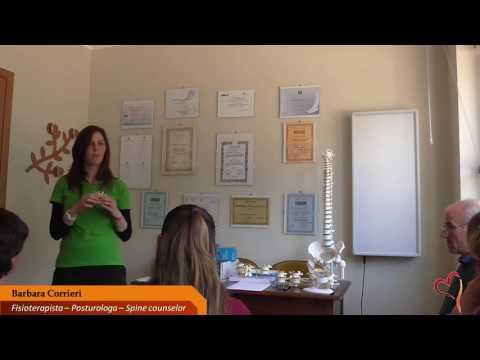 Osteocondrosi toracica primo grado