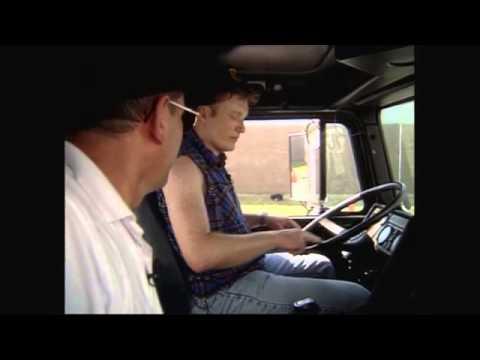 Conan Enrolls In Truck Driving School