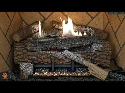 Boulder Mountain Ventless Gas Log Set