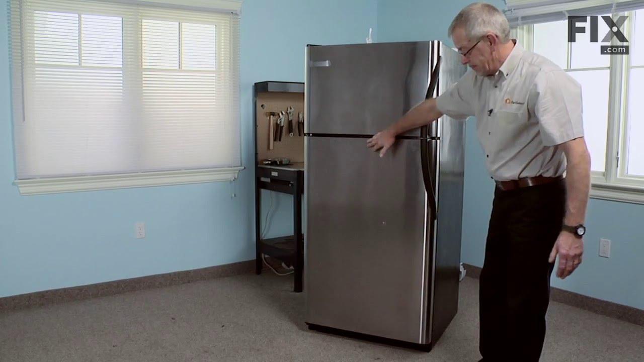 Replacing your Frigidaire Refrigerator Refrigerator Door Shelf Retainer Bin