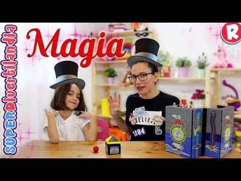 Juego de Magia con Andrea y Raquel en SUPERDivertilandia! Melissa & Doug.