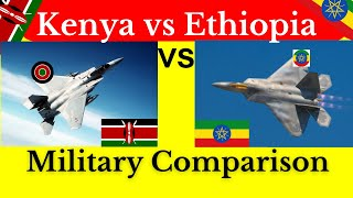 Ethiopia vs Kenya Military Power Comparison 2021 - Kenya and Ethiopia - Kenya vs Ethiopia military