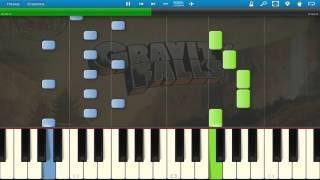 Гравити Фолз на пианино