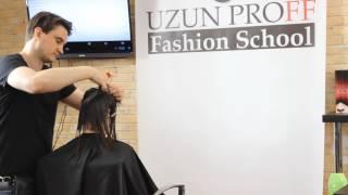Градуированное  КАРЕ .Обучение для парикмахеров от Узун Виталия, Одесса.