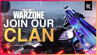 Warzone Clan Recruitment - HOW TO JOIN A MODERN WARFARE TEAM IN 2021