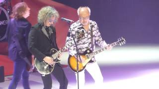 """Head Games & Cold As Ice"" Foreigner@Giant Center Hershey, PA 7/15/17"