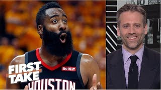 If James Harden doesn't choke, Rockets have chance to beat the Warriors - Max Kellerman | First Take
