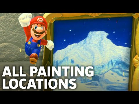 Super Mario Odyssey – All Painting Locations