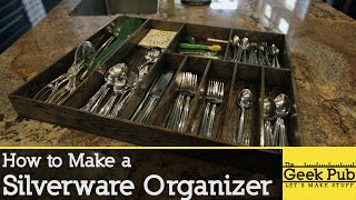 How to Make a Silverware Organizer