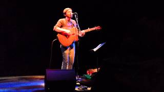John K. Samson performs at The Chan Centre For Performing Arts - Vancouver, Canada