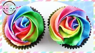 how to make two toned buttercream roses