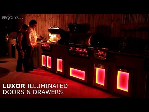 Luxor Illuminated LED Outdoor Kitchen Accessories