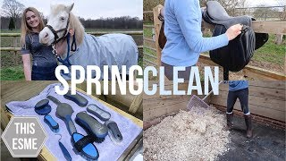 SPRING CLEAN   Tackroom, Grooming Brushes And More!   This Esme