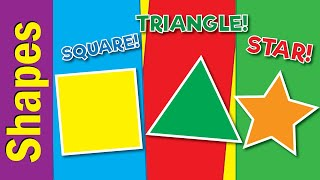 Learn Shapes Vocabulary for Kids | Shapes in English | Fun Kids English