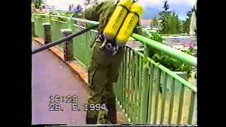 preview picture of video 'Brandeinsatzübung - Feuerwehr Semmering 1994'
