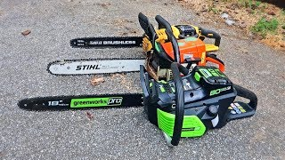 Worlds First 18 Electric Chainsaw