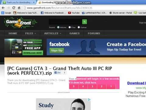 how to download gta 3 free (NO TORRENT)