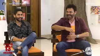Rana interviews Venkatesh, Suresh Babu and Naga Chaitanya - Venky Mama - idlebrain.com