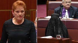 Burqa Clad Senator Sparks Backlash In Australian Parliament