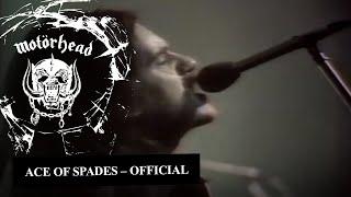 Motörhead – Ace Of Spades (Official Video)