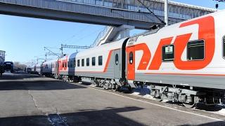 Фирменный поезд «Юность» оснастили новыми железнодорожными вагонами