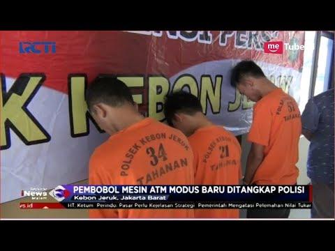 Polisi Tangkap Pembobol Mesin ATM dengan Modus Baru di Kebon Jeruk - SIM 12/10