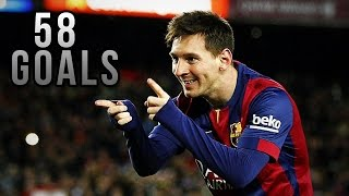• Lionel Messi ● All Goals ● 20142015 • HD •