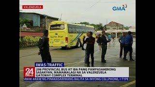 298 provincial bus at iba pang pampasaherong sasakyan, mamamalagi na sa Val gateway complex terminal