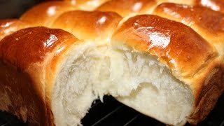 How To Make Bakery Style Super Soft Chewy Dinner Rolls | 微波面包