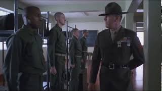 I am hard, but I am fair. There is no racial bigotry here | FULL METAL JACKET