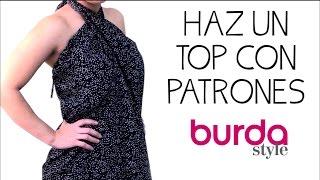 ¡Haz un top con patrones Burda!