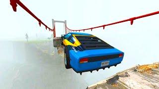 Epic Crashes & Destruction ★BeamNG drive★ Crazy Jumps Police Chases Crash Test Cars / Drive2Live