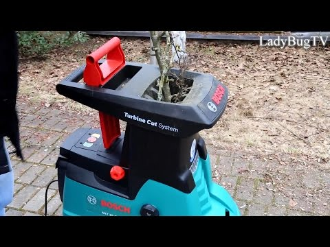 Bosch AXT 25 TC  Turbine cut system practical use