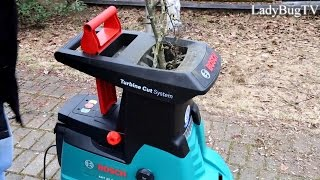 Bosch AXT 25 TC  Turbine cut system practical use